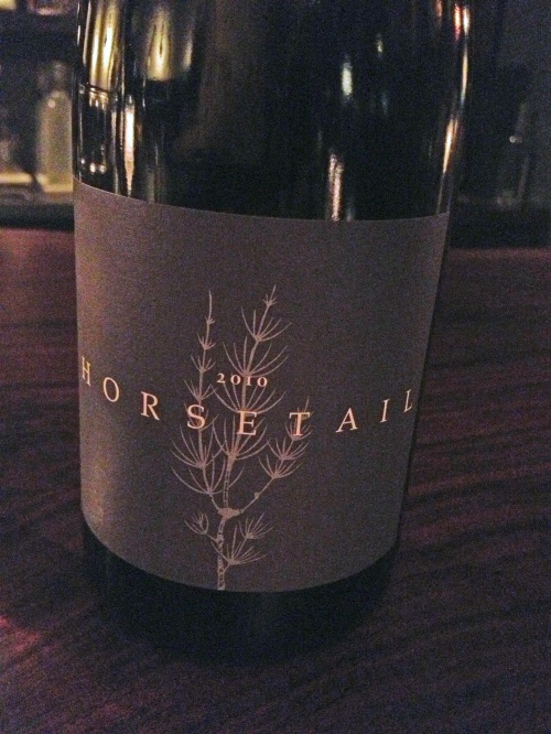 coattails winery - 2010 pinot noir